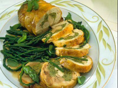 rotolo-di-pollo-con-asparagi ricetta