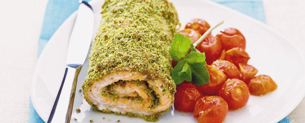 rotolo di salmone alla menta Sale&Pepe ricetta