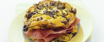 sandwich-al-radicchio-con-prosciutto-crudo ricetta