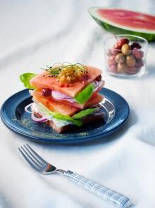 Sandwich di anguria