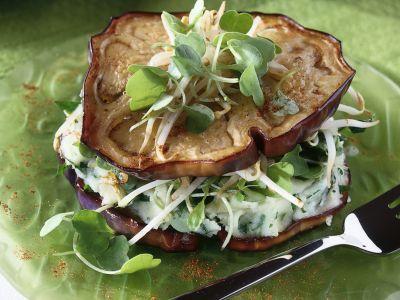 andwich di melanzane al purè di patate ricetta Sale&Pepe