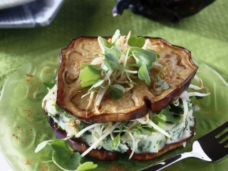 andwich di melanzane al purè di patate ricetta