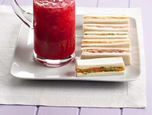 sandwich di salmone e verdure Sale&Pepe