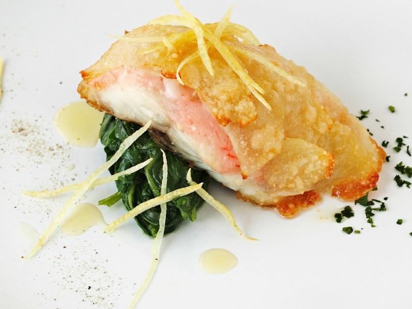 scaloppe-di-pesce-al-limone-con-gamberi step
