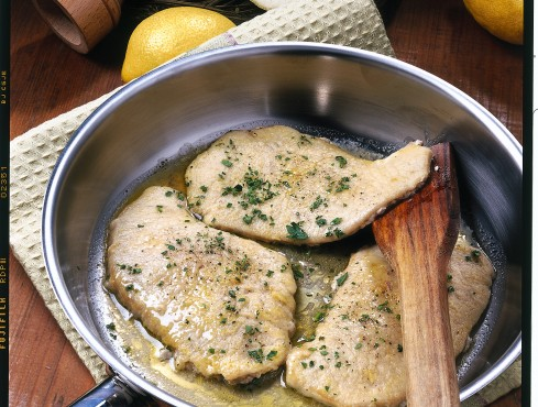 Scaloppine di vitello al limone Sale&Pepe ricetta