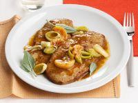 scaloppine-di-vitello-al-mandarino ricetta