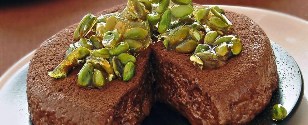 semifreddo con croccante di pistacchi Sale&Pepe ricetta