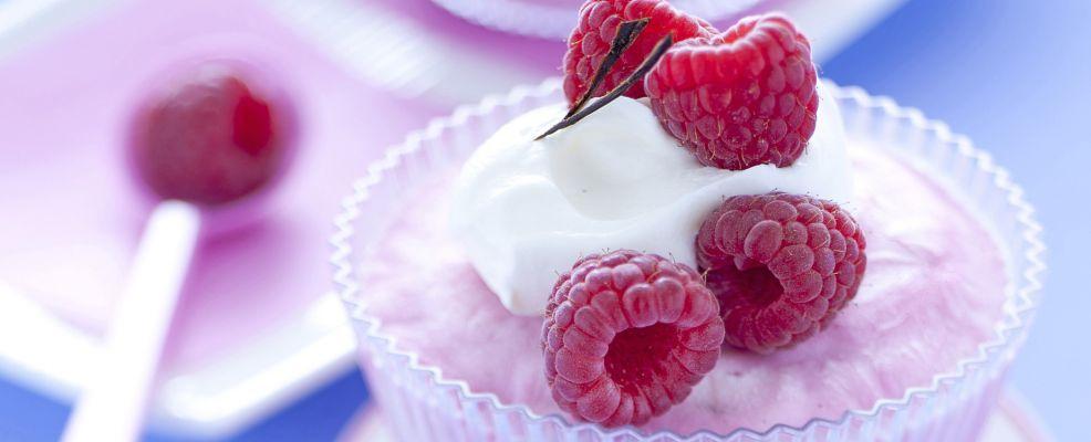 semifreddo di lamponi e yogurt con meringa ricetta Sale&Pepe