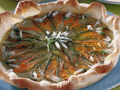 sfoglia ai fiori di zucca ricetta