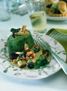 Sformatini di broccoli in salsa