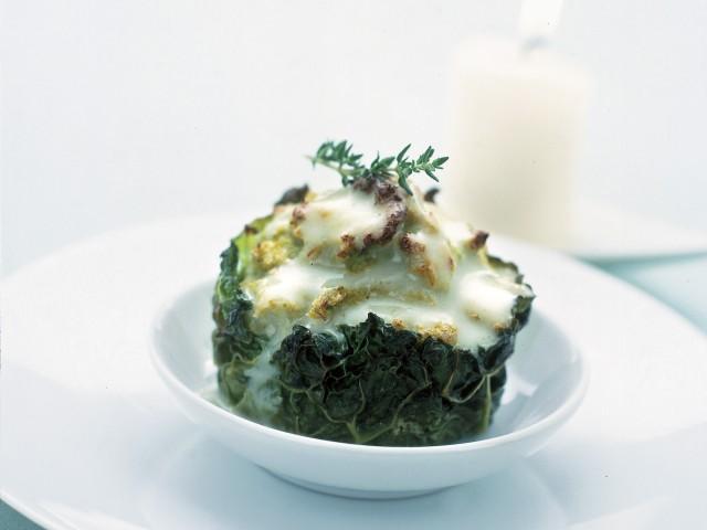 sformatini di cavolfiore con salsa tartufata Sale&Pepe ricetta