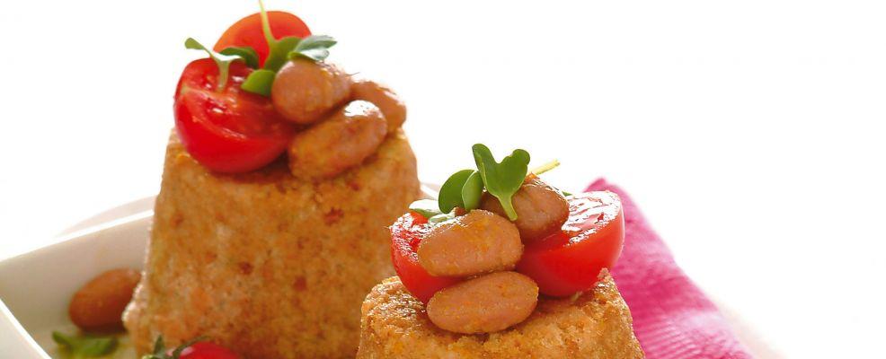 sformatini di fagioli al curry Sale&Pepe