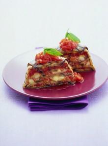Sformatini di parmigiana alla griglia