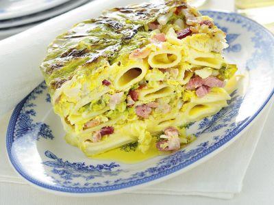 sformato-di-pasta-alla-verza ricetta