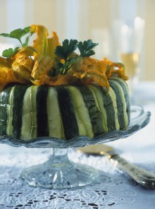 Lo sformato di zucchini passati