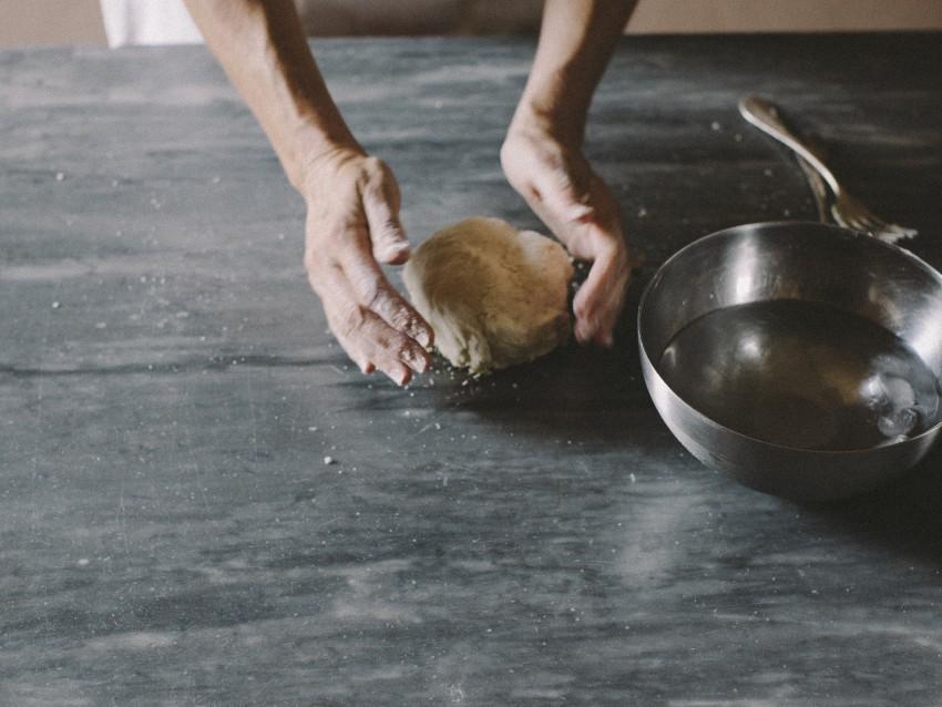 shortcrust-pastry-pasta-brisee foto