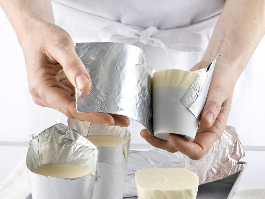 Soufflè gelato cremoso al limone Sale&Pepe