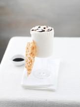 soufflè gelato al balsamico