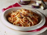 spaghetti con melanzane al forno Sale&Pepe