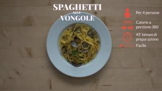 Gli spaghetti alle vongole