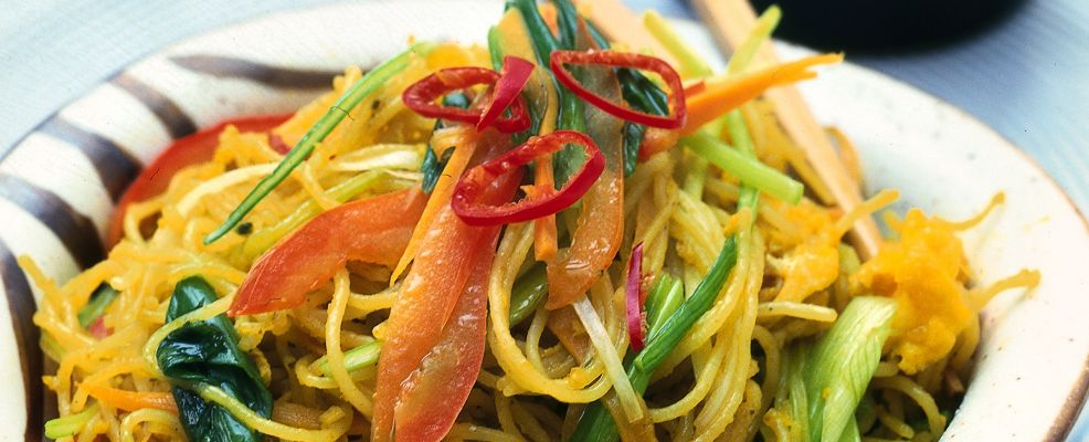 spaghetti di riso piccanti Sale&Pepe ricetta