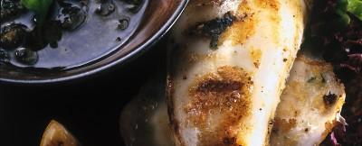 spiedini di calamari farciti con il tonno ricetta