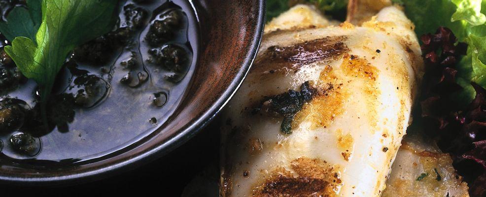 spiedini di calamari farciti con il tonno Sale&Pepe ricetta