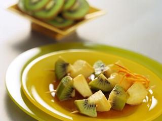 spiedini-di-mele-e-kiwi ricetta