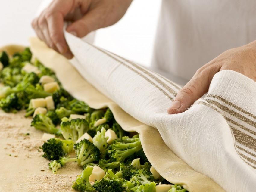spirale con broccoletti e formaggio Sale&Pepe foto