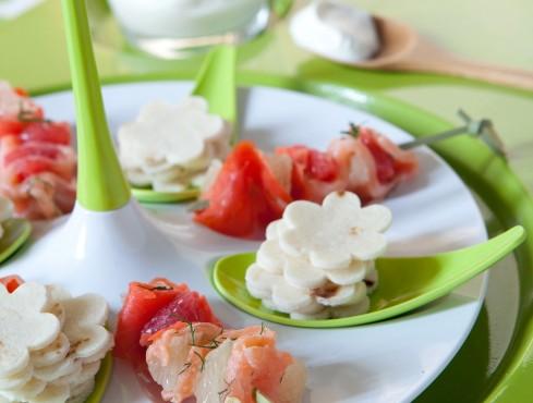 stecchi con salmone e pompelmo Sale&Pepe ricetta