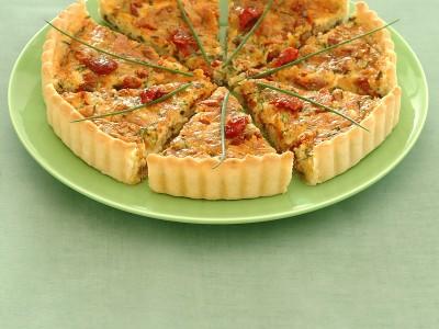 tarte con formaggio e olive