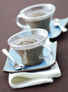 Le tazze al caffè con gelato