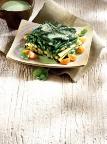 Teglia di zucchine e fagiolini