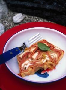 La terrina di lasagne alla robiola