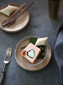 La terrina sformata di salmone, spinaci e merluzzo