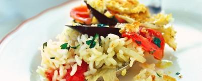 tiella di riso patate e cozze