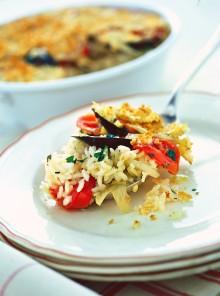 La tiella di riso, patate e cozze