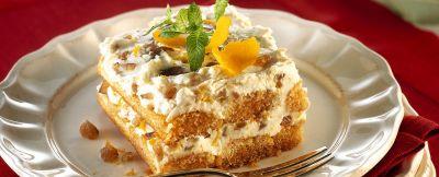 tiramisù con ricotta e marrons glacés ricetta