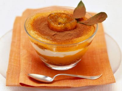 tiramisù in arancione ricetta
