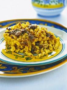 I torchietti con ragù di carne alla siciliana