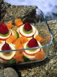 Le torrette di frutta