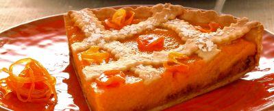 torta con arancia e amaretti ricetta