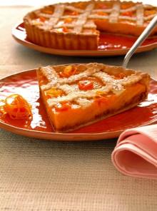 Torta con arancia e amaretti