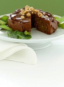 La torta croccante al cioccolato