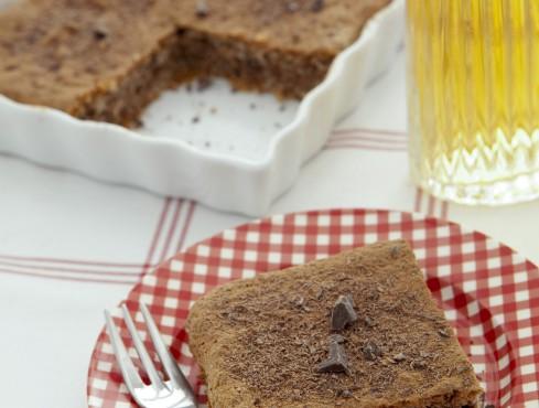 torta di albumi al cioccolato Sale&Pepe