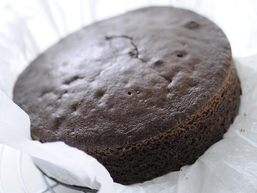torta-di-cioccolato-allarancia-cioccolato preparazione