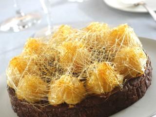 Torta di cioccolato alle clementine Sale&Pepe ricetta
