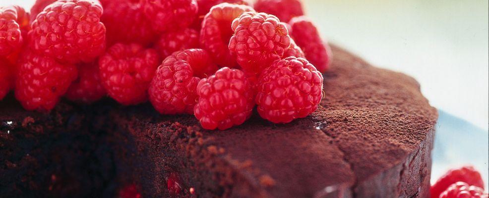 torta-di-lamponi-e-cioccolato ricetta