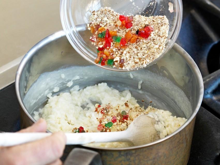 torta di riso e mandorle con zabaione Sale&Pepe ricetta