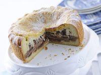 torta doppia alla ricotta Sale&Pepe preparazione